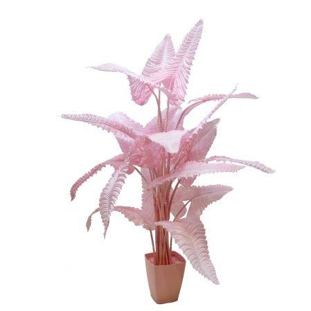 170/К/408(Promo) Каладиум куст розовый h170см (плотный силикон)