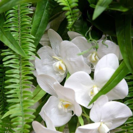 Л35 Лиана Манго с орхидеями L100см
