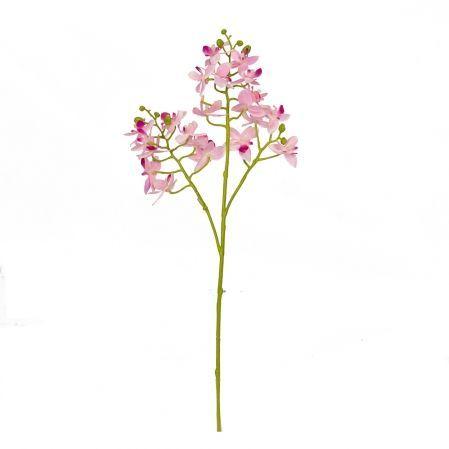 7141/9225-1/1 Орхидея ветка мелкая (розовая) h 46см