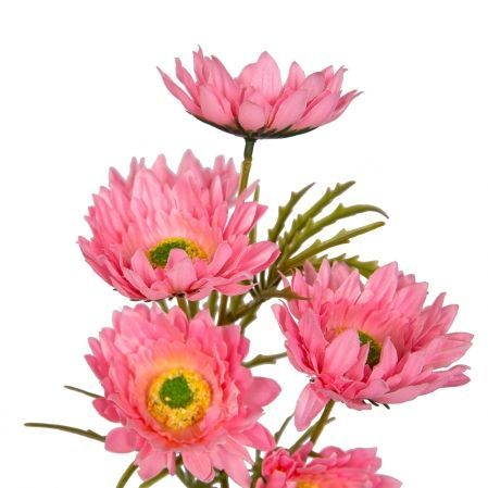 7141/9149-6/1 Ветка космеи махровая*6 d8; h60см (розовая)