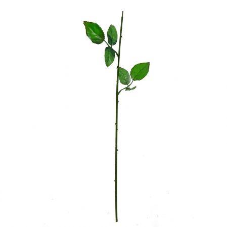 405/1219 Нога для розы с двумя листьями h61см (RS)