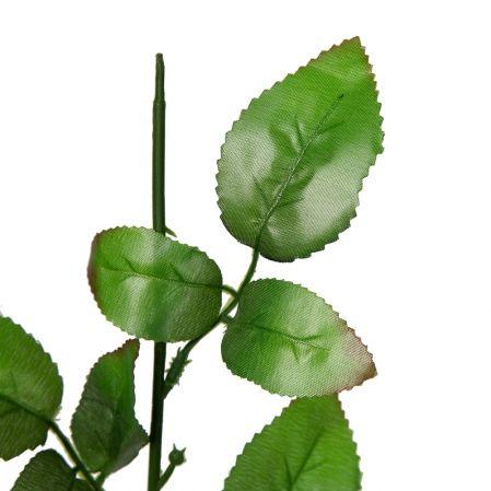 405/1262 Нога для розы с тремя листьями h57см (RS)