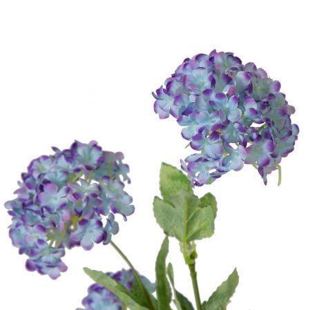 7143/А2785-28/10 Ветка калины h87см *4(голубой)