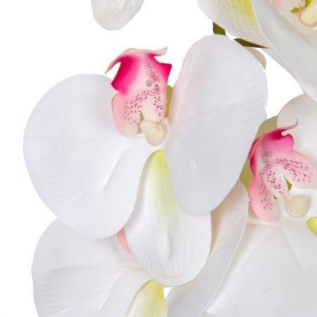 7141/А2785-05/23-2 Орхидея h108см(латекс)(бел.с малинов.)