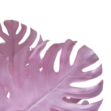 80/К/ССТ/371-2(з.) Монстера розовая на стволе h80см (латекс)