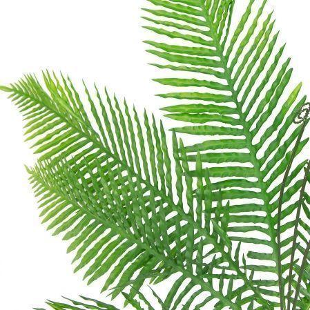 7143/А2790-130 Папоротник куст с побегами *8 h78см зелен.(1034)