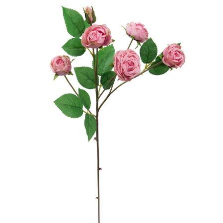 7141/А2790-01/1 Роза пионовидная розовая h70см(5г+1б)(294)