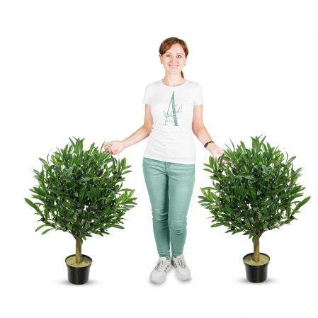 75/Ш/175(Promo) Оливковое дерево с плодами h75см(латекс)