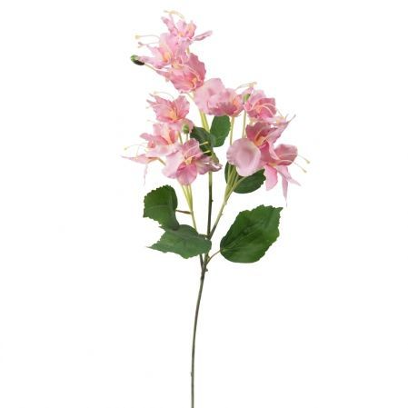 7141/А2790-02/1 Цветок декоративный розовый h72см(222)