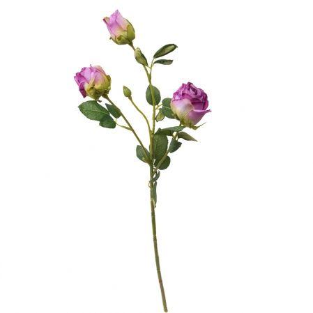 7141/А2790-05/8 Роза Ретро сиренев.. h52см(2г+1бут)(651)