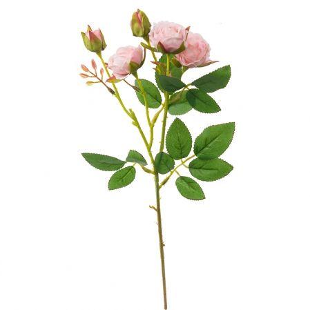 7141/А2790-08/1 Роза кустовая мелк.розовая h42см(354)