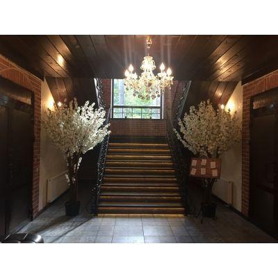 Банкетный зал ресторана Salvador отеля Sunrise на Горнолыжном центре Банное