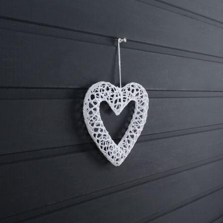 31/5268А (Sale) Подвес сердце ажурн.белое