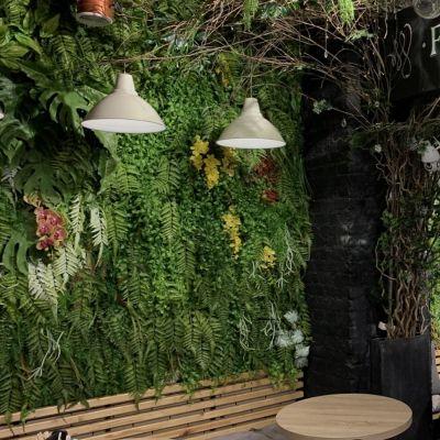 Фитостены в кафе Флориста-Бариста | Москва
